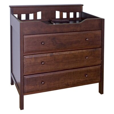 Jayden 3 Drawer Changer Dresser Finish: Espresso M5925Q