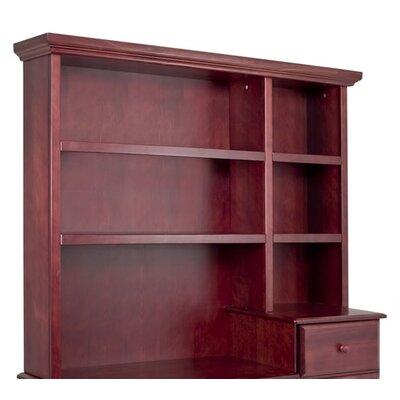 45.5 H x 55.2 W Desk Hutch Finish: Cherry