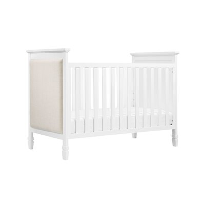 DaVinci Lila 3-in-1 Convertible Crib Color: White / Oatmeal