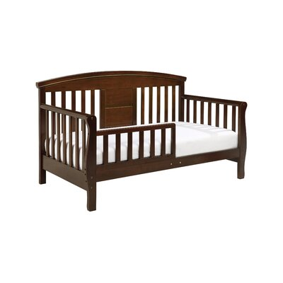 Elizabeth II Convertible Toddler Bed Finish: Espresso