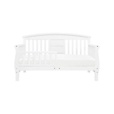 Elizabeth II Convertible Toddler Bed Color: White