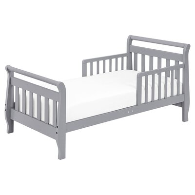 Sleigh Toddler Sleigh Bed Finish: Grey
