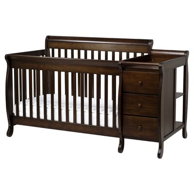 DaVinci Kalani 4-in-1 Convertible Crib and Changer Combo - Finish: Espresso at Sears.com