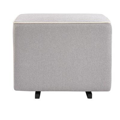 Universal Glider Ottoman Upholstery: Gray/Cream