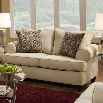 American Furniture Montana Loveseat - Color: Buff
