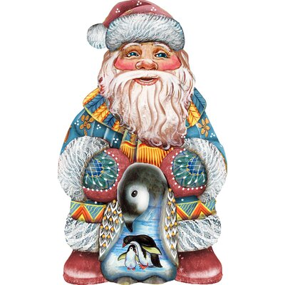 Decorative Loving Embrace Santa Hanging Figurine 8118051M