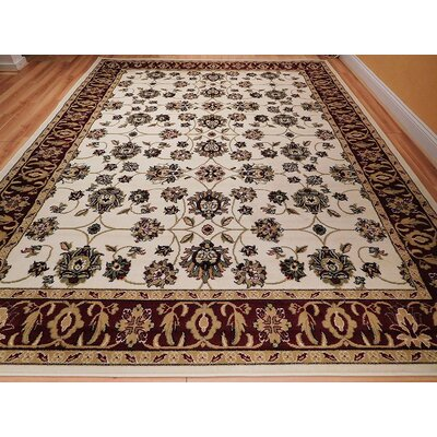 Renner One-of-a-Kind Wool Ivory Area Rug