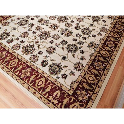 Renshaw One-of-a-Kind Wool Ivory Area Rug