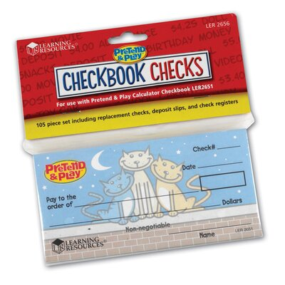 Learning Resources Checkbook Checks at Sears.com