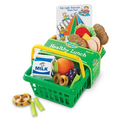 Pretend and Play Healthy Lunch Basket LER7291-
