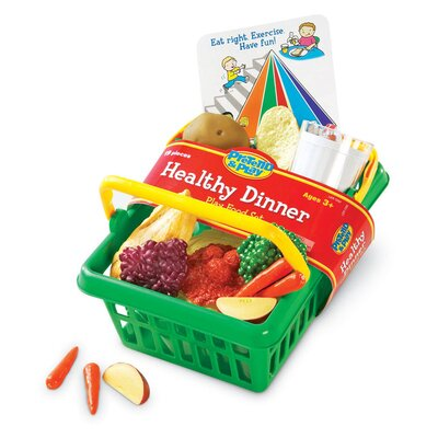 Pretend and Play Healthy Dinner Basket LER7292-