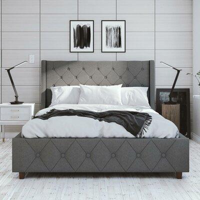 Mercer Upholstered Platform Bed Size: Queen