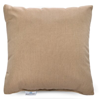 Cast Lagoon Outdoor Pillow Color: Tan, Product Type: Throw Pillow