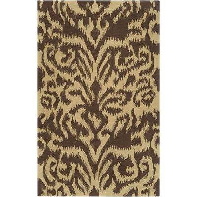 Sag Harbor Dark Khaki Area Rug Rug Size: Rectangle 5 x 8