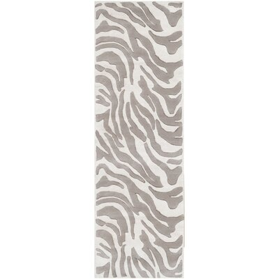 Mosaic Gray Rug Rug Size: Runner 26 x 8