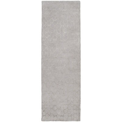 Moderne Beige/Warm Beige Area Rug Rug Size: Runner 26 x 8
