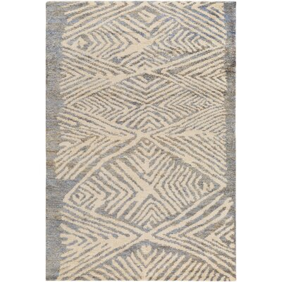 Orinocco Hand-Woven Gray/Beige Area Rug Rug Size: Rectangle 8 x 10