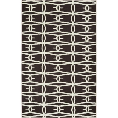Fallon Black Area Rug Rug Size: Rectangle 5 x 8