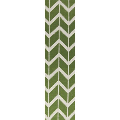 Fallon Teal Green Area Rug Rug Size: Runner 26 x 8