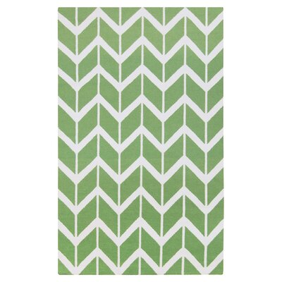 Fallon Teal Green Area Rug Rug Size: 2 x 3