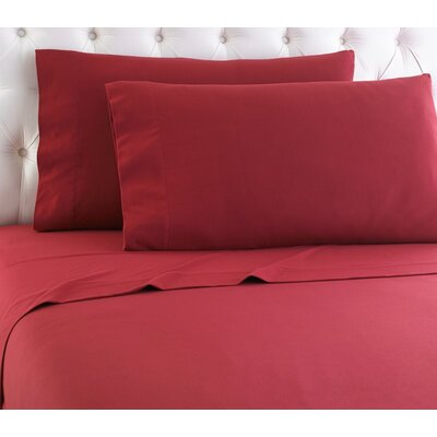 Shavel Micro Flannel® Sheet Set - Color: Brick, Size: Twin XL
