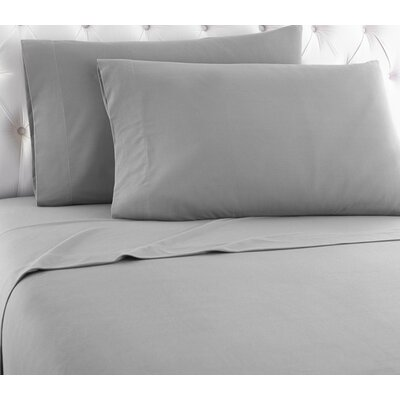 Shavel Micro Flannel® Sheet Set - Color: Greystone Size: Twin