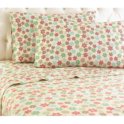 Shavel Micro Flannel� Snowflake Sheet Set - Size: Queen at Sears.com