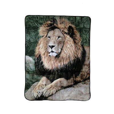 Shavel Mighty Lion Polyester Throw Blanket at Sears.com