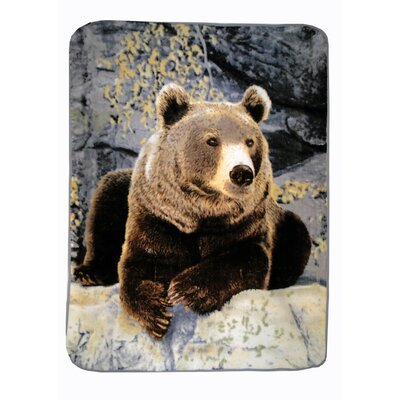Relaxing Bear Throw Blanket