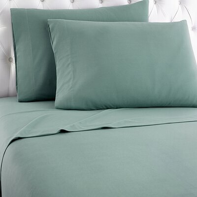 Shavel Micro Flannel® Sheet Set - Size: Twin, Color: Spruce
