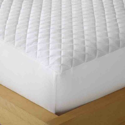 Micro Flannel� Heat Reflecting Mattress Pad Size: Twin