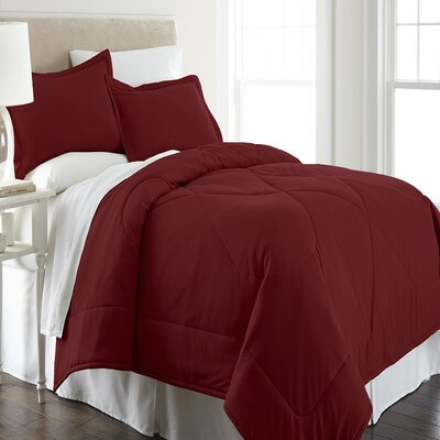 Micro Flannel Comforter Set Size: King
