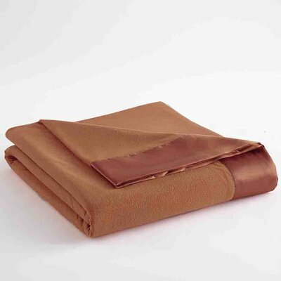 Micro Flannel� Sheet Blanket Size: Twin, Color: Spice