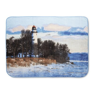 Colton Lighthouse High Pile Oversized Throw