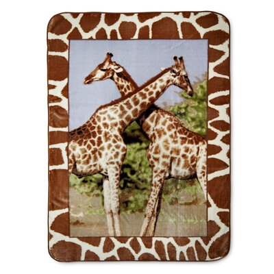 Fayanna Giraffes High Pile Oversized Throw