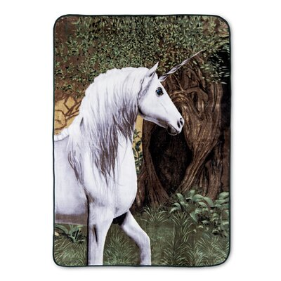 Pearlie Unicorn High Pile Oversized Throw