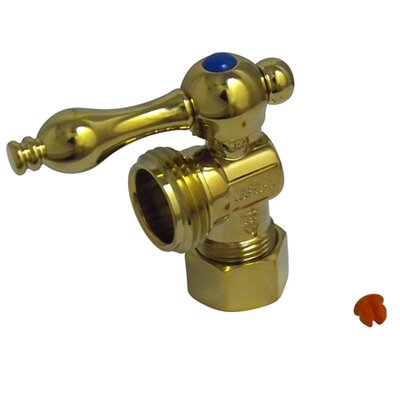 Quarter Turn Valves with Lever Handles Finish: Polished Brass