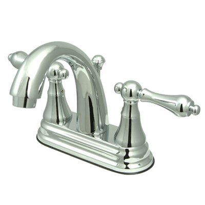 Elizabeth Centerset Bathroom Faucet with Double Lever Handles Finish: Polished Chrome