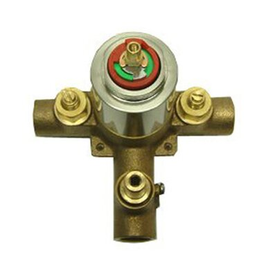 Heritage Pressure Balanced Tub Valve and Shower Faucet Finish: Polished Brass
