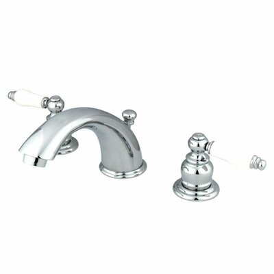 Magellan Widespread Double Handle Bathroom Faucet with Drain Assembly Finish: Polished Chrome
