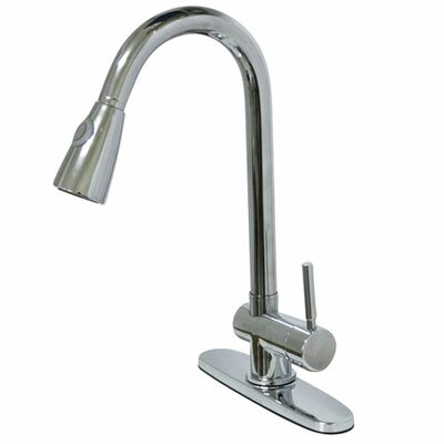 Concord Single hole Single Handle Bathroom Faucet Finish: Polished Chrome