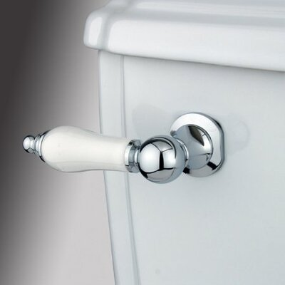 Made to Match Decorative Porcelain Tank Lever Arm Finish: Polished Chrome