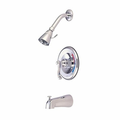 Royal Trim Kit with French Lever Handles Finish: Polished Chrome / Polished Brass
