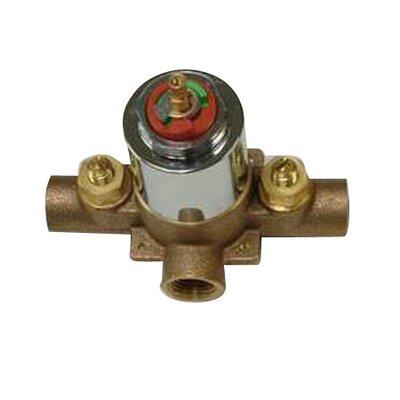 Vintage Pressure Balanced Tub Valve and Shower Finish: Polished Brass