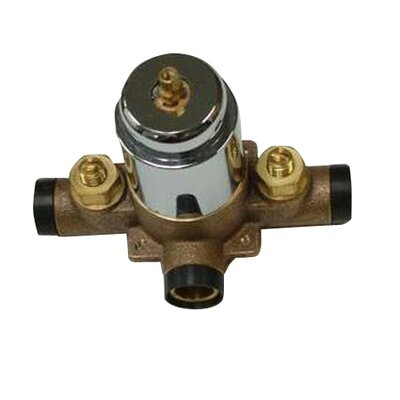 Vintage Pressure Balanced Tub and Shower Swept Valve