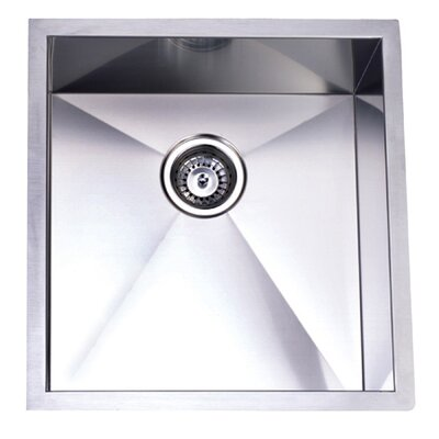 20.06 x 19 Towne Square Undermount Single Bowl Kitchen Sink