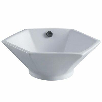 Metropolitan Specialty Vessel Bathroom Sink with Overflow