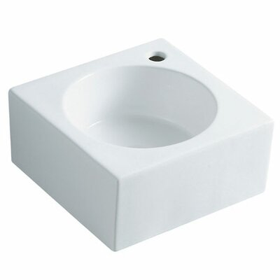Villa Ceramic 15 Corner Bathroom Sink