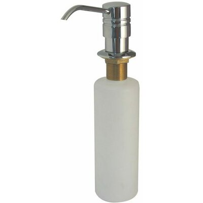 Decorative Soap Dispenser Finish: Polished Chrome