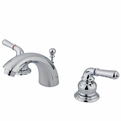 St. Charles Mini Widespread Bathroom Faucet with Double Lever Handles Finish: Polished Chrome